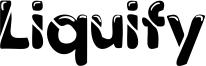 Liquify Font
