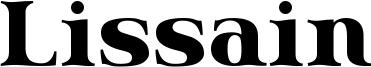 Lissain Font
