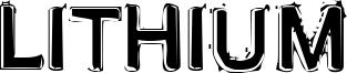 Lithium Font