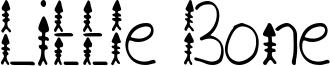 Little Bone Font