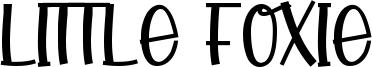 Little Foxie Font