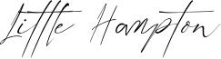 Little Hampton Font