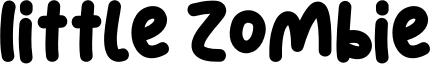 Little Zombie Font