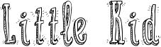 Little Kid Font