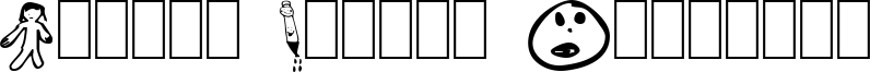 Little Sister Dingbats Font