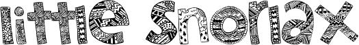 Little Snorlax Font