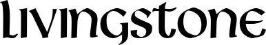 Livingstone Font
