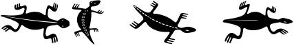 Lizards Font