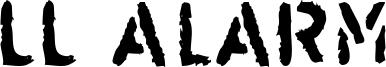 LL Alarm Font