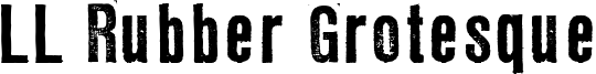 LL Rubber Grotesque Font