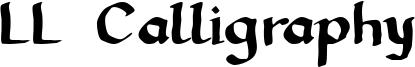 LL Calligraphy Font