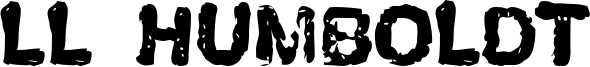LL Humboldt Font