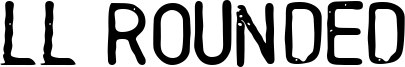 LL Rounded Font