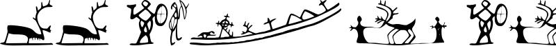 LL Sami Signs Font