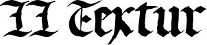 LL Textur Font