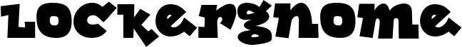 Lockergnome Font