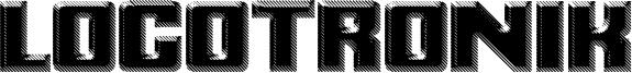 Logotronik Font