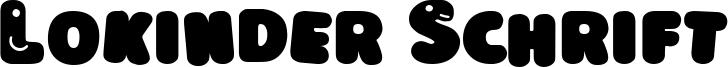 Lokinder Schrift Font