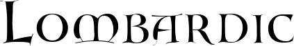 Lombardic Font