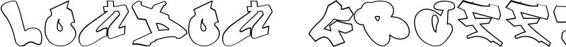 London Graffiti Alphabet Font