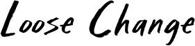 Loose Change Font