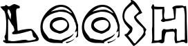 Loosh Font