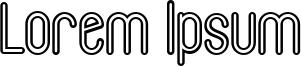 Lorem Ipsum Font
