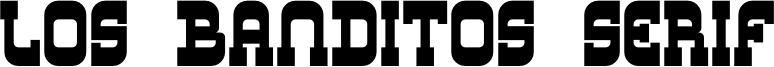 Los Banditos Serif Font