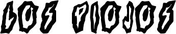 Los Piojos Font