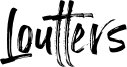 Loutters Font