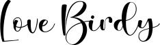 Love Birdy Font