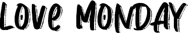 Love Monday Font