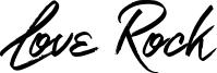 Love Rock Font