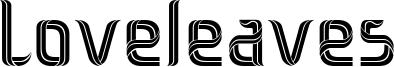 Loveleaves Font