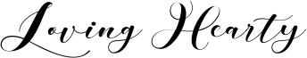 Loving Hearty Font