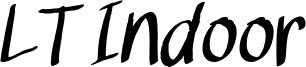 LT Indoor Font