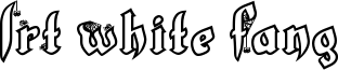 LRT White Fang Font