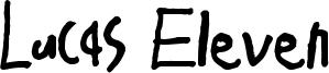 Lucas Eleven Font