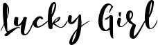 Lucky Girl Font