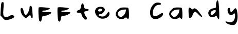 Lufftea Candy Font