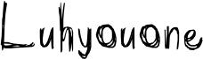 Luhyouone Font