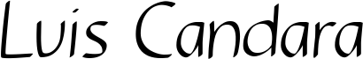 Luis Candara Font