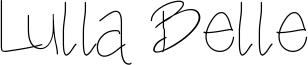 Lulla Belle Font