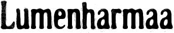Lumenharmaa Font