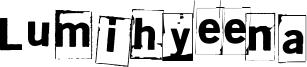 Lumihyeena Font
