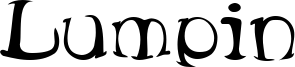 Lumpin Font