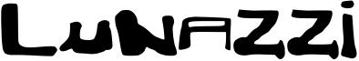 Lunazzi Font