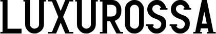 Luxurossa Font