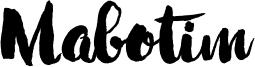 Mabotim Font