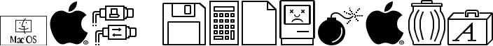 Mac Dingbats Font